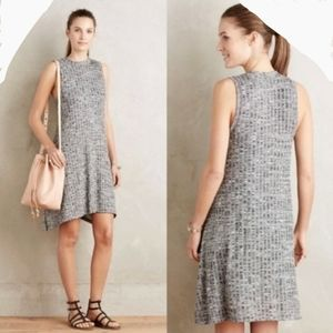 Maeve Emerson Swing Dress Side Pockets Gray Marble